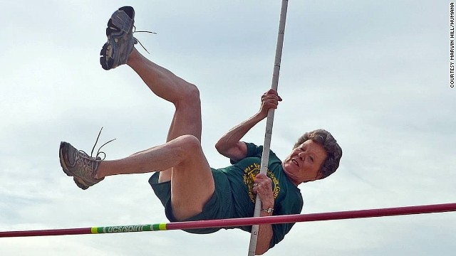Flo Meiler becomes oldest steepler, ups WR in the W80 vault