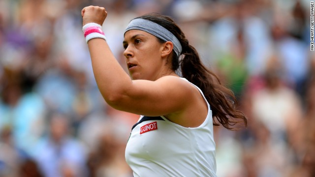 Marian Bartoli secured a crushing win over Kirsten Flipkens to reach her second Wimbledon final.
