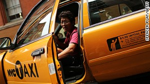 NYC cabbies -- let them tell you a story.