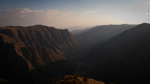 Climb up the dramatic summits of the Simien Mountains in Ethiopia to experience the spectacular scenery and overwhelming views. <i>Peak: 4,533 meters.</i>
