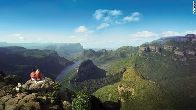 Stunning views, crisp air and powerful cascades are all major incentives to hike The Drakensberg, a massive mountainous range dominating the skyline of southern Africa. <i>Peak: 3,475 meters.</i>