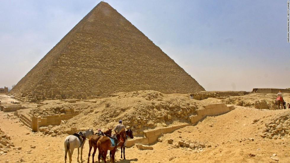 Gran Pirámide de Giza, Egipto