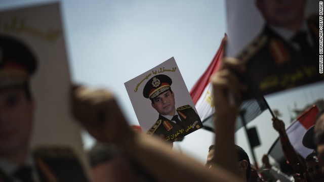 Authoritarians return to run Egypt