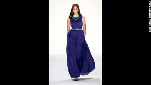 The maxi dress is another trendy way to cover up in the summer, but it's not for everyone, London said. Women who are petite or have a large chest should find a maxi dress with a waist that hits at the bottom of the rib cage for the most flattering silhouette, she said.