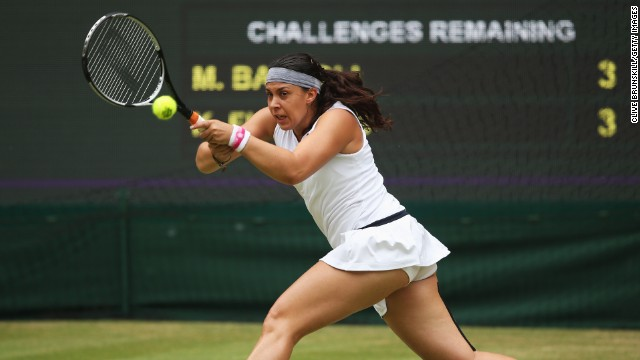 Bartoli's two-handed shots off both wings have proved highly effective on the fast grass courts of Wimbledon as she has reached her second final at SW19.