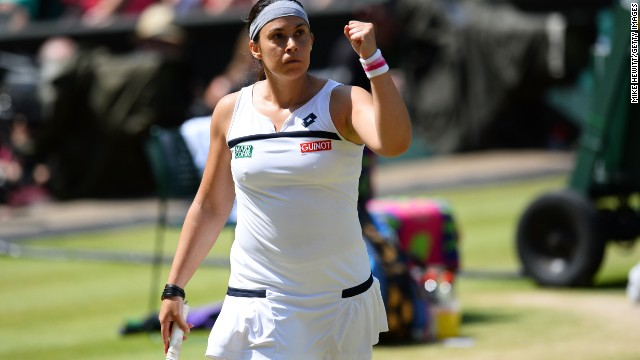 Bartoli reached the Wimbledon final in 2007 where she lost out to Venus Williams.