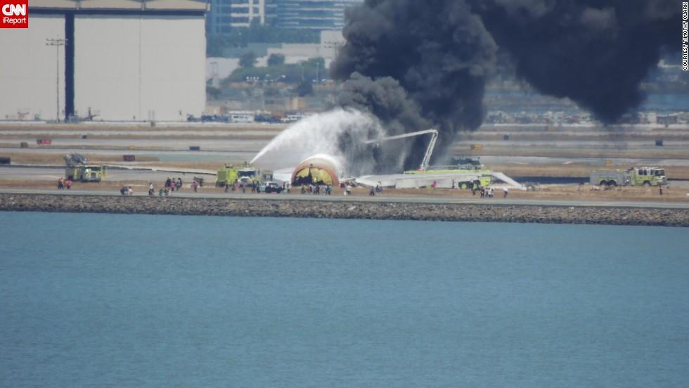 Un avión se estrella al aterrizar en San Francisco