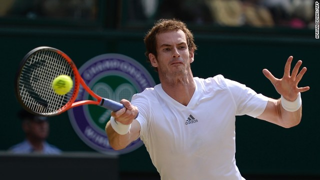 Murray, who lost in last year's final to Roger Federer, won the first set 6-4 after a pulsating start to the contest.