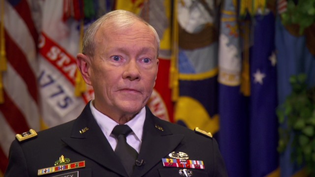 U.S. Army Gen. Martin Dempsey said the United States faces