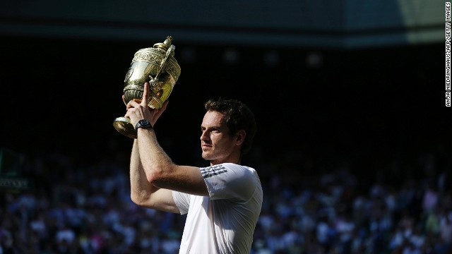 Andy Murray's triumph at Wimbledon ended a 77-year wait for a British male champion. Scotsman Murray, who had lost in the final 12 months earlier, defeated Novak Djokovic in straight sets following a titanic tussle.