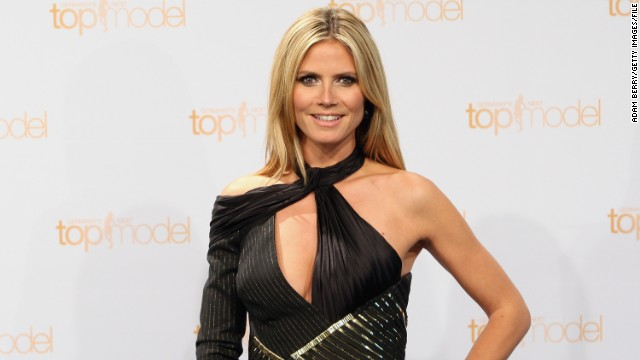 Heidi Klum channels Bo Derek ... and the Coppertone girl