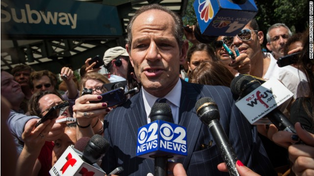 Spitzer says he exceeded signature requirement for NYC ballot