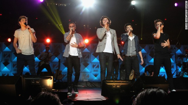 One Direction performs onstage during Z100's Jingle Ball 2012, presented by Aeropostale, at Madison Square Garden on December 7, 2012 in New York City.