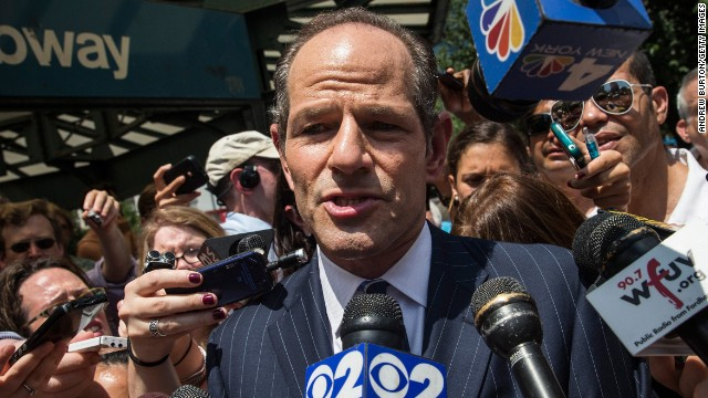 Spitzer takes heat in first debate of NYC race