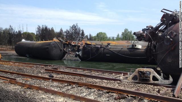 Falla en frenos causó accidente de tren en Canadá