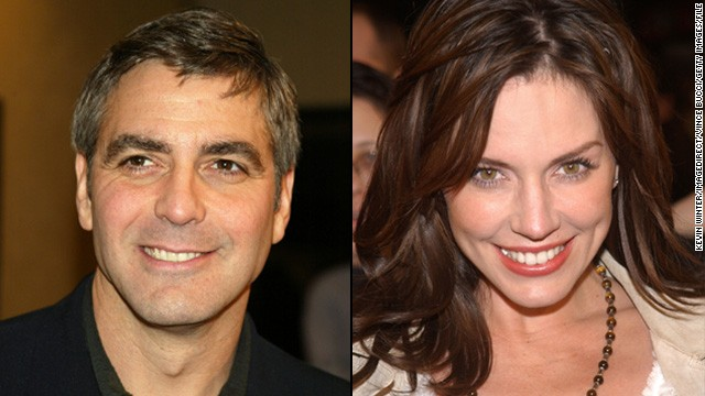 "Krista Allen: Clooney fell for ""Baywatch"" actress Krista Allen in 2002. They met on the set of Clooney's directorial debut, ""Confessions of a Dangerous Mind,"" and reportedly dated on and off until around 2008."