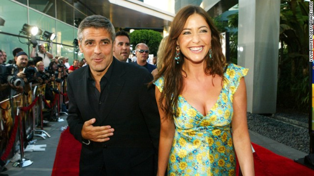 <strong>Lisa Snowdon</strong>: Clooney dated Brit model and media personality Lisa Snowdon on and off for about five years after reportedly meeting her on the set of a commercial in 2000.