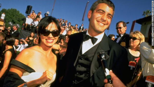 Karen Duffy: Former MTV VJ Karen Duffy hooked Clooney in 1995, and while their romance didn't last, the friendship did. Duffy was spotted on a boat ride with Clooney and then-girlfriend Canalis in 2010.
