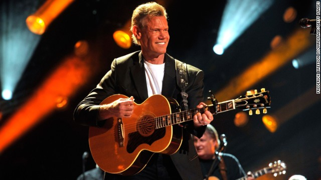 Randy Travis performs during the 2013 CMA Music Festival on June 7 in Nashville.