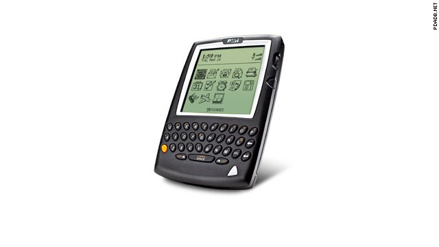 Four years later, in 2000, the BlackBerry looked a lot more like, well, a BlackBerry. You could surf the web, send and receive e-mails, and set alarms, but it was still essentially a pager with PDA features. The $499 list price and $40 monthly service fee was shocking to some.