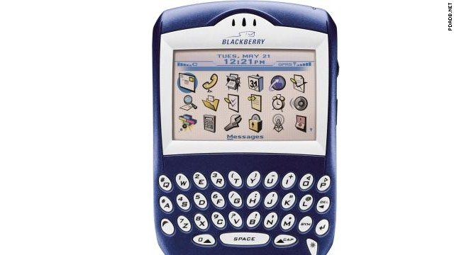 In 2003, BlackBerry debuted its first phone with a color screen. It was cutting-edge technology, and the classic blue shell set the precedent for how the company's future lines would look.