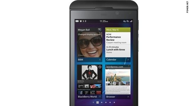In January of 2013, BlackBerry released the Z10 and the Q10 -- phones built on the overhauled BlackBerry 10 operating system. But the devices failed to excite consumers, and the company posted a first-quarter loss. In September it announced it was laying off 40% of its workforce.