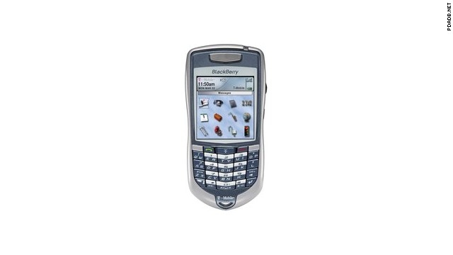 In 2004 the BlackBerry got much sleeker. This meant less space for a full keyboard so RIM introduced SureType, a phone keypad and QWERTY hybrid.