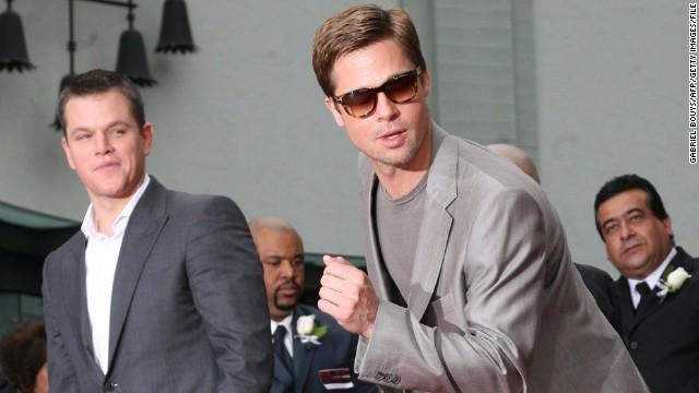 Why Brad Pitt is jealous of Matt Damon