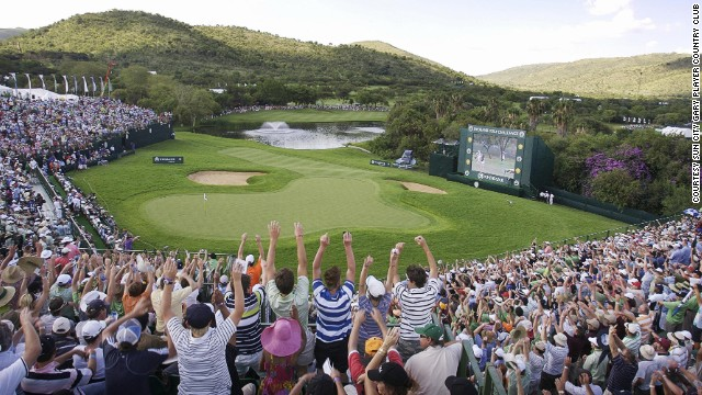 For the last 32 years, this course has staged the Nedbank Golf Challenge, a twelve golfer invitational. The tournament has featured Tiger Woods, Sergio Garcia, Ernie Els, Jim Furyk, Lee Westwood, Jack Nicklaus, Player and the legendary Seve Ballesteros.