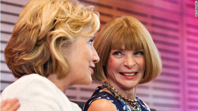 Anna Wintour boosts Hillary Clinton for 2016