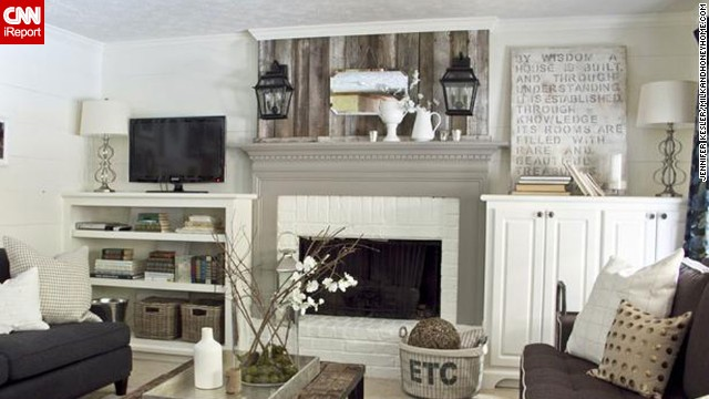 "<a href='http://ireport.cnn.com/docs/DOC-1001099'>Anisa Darnell</a> of Roswell, Georgia, designed this cottagey living room for clients. This room was featured on HGTV's ""Design Wars."""