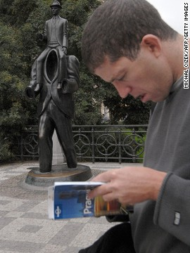 Making a travel plan using only your guidebook is like making a plan to stand in line for a week. Pull no more than a suggestion or two a day from a guide that thousands are carrying. So where's that Kafka statue, again?