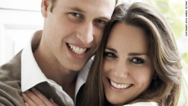 Photos: Will and Kate\'s royal love affair