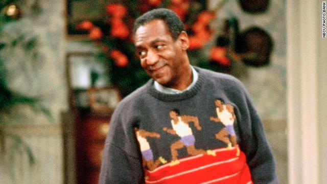 One favorite Cosby sweater, <a href='http://billcosby.com/polls' target='_blank'>according to fans</a>, is this one featuring knitted runners. It also represents one of Cosby's greatest passions, running track.