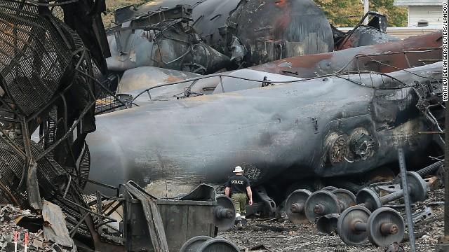 Los frenos del tren accidentado en Canadá no estaban bien colocados