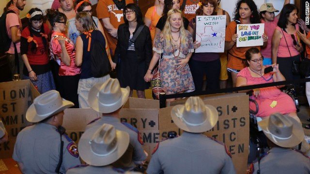 Controversial Texas abortion bill
