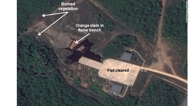 Is North Korea testing new rocket engines?