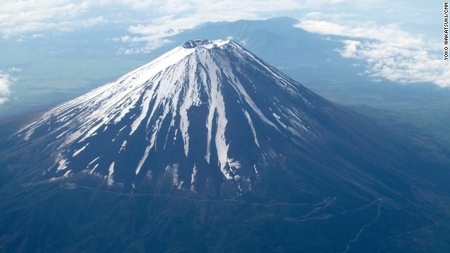 Google Street View maps Mount Fuji...