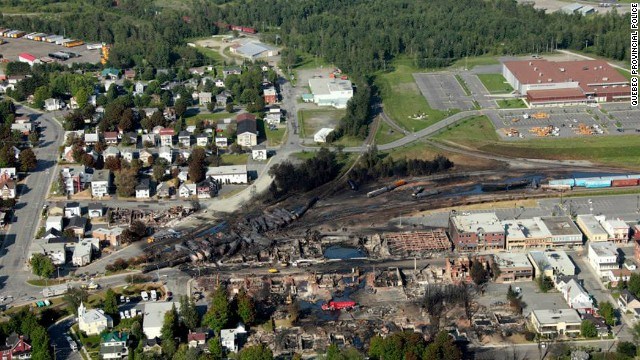 An engineer faces a criminal investigation by Canadian authorities, according to the head of the railway whose runaway train devastated Lac-Megantic.