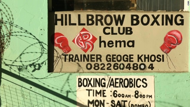 The boxing club is a haven for local youth in one of Johannesburg's most dangerous inner city neighborhoods.