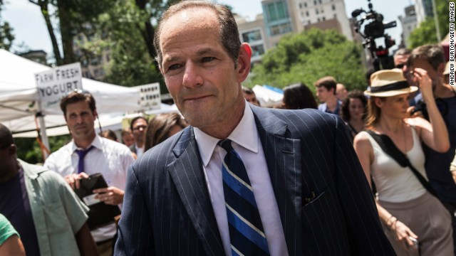 Forgiven? Eliot Spitzer gets unusual endorsement