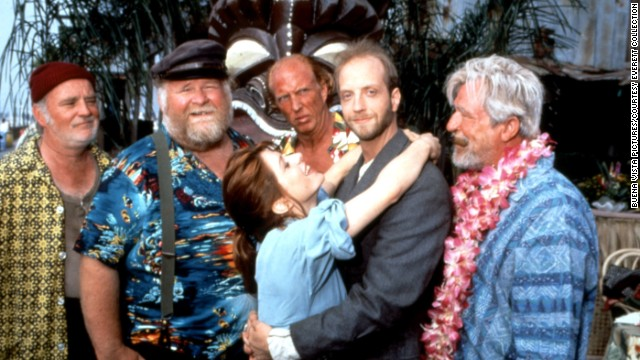 "A reader named Steve said he was ""surprised 'Cabin Boy' didn't make this list."" The 1994 fantasy flick earned star Chris Elliott, second from right, <a href='http://www.listal.com/list/razzie-nominated-films-1990s' target='_blank'>a Razzie nomination</a> for ""worst new star."""