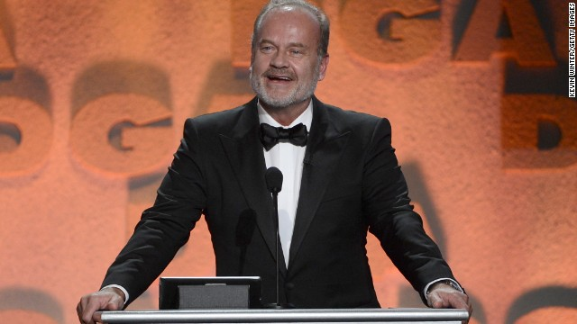 Kelsey Grammer reportedly spent some time camping out in alleys with his motorcycle before he was famous.