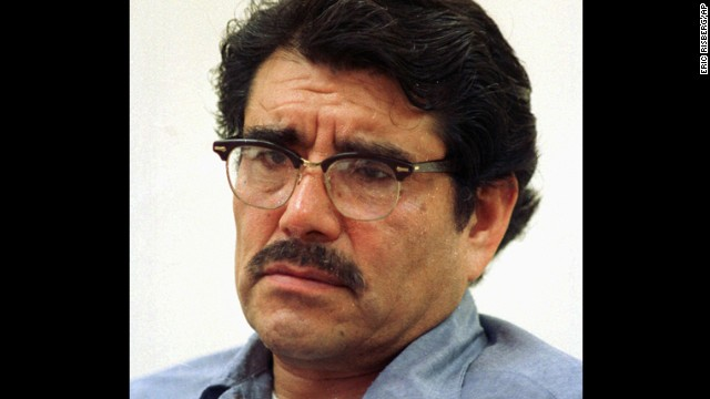 In 1973, Juan Corona, a California farm laborer, was sentenced to 25 consecutive life sentences for the murder of 25 people found hacked to death in shallow graves.