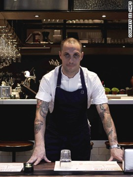 <strong>22 Ships in Hong Kong.</strong><!-- --> </br><strong>Chef</strong>: Jason Atherton, former head chef of Gordon Ramsay's Maze (one Michelin star) and owner of Pollen Street Social (one Michelin star). Pictured: head chef Matt Bishop.<!-- --> </br><strong>Cuisine</strong>: Massive menu of modern Spanish tapas with classic seafood and meat dishes, as well as salmon ceviche and watermelon, or pineapple carrot sorbet with coconut tapioca.