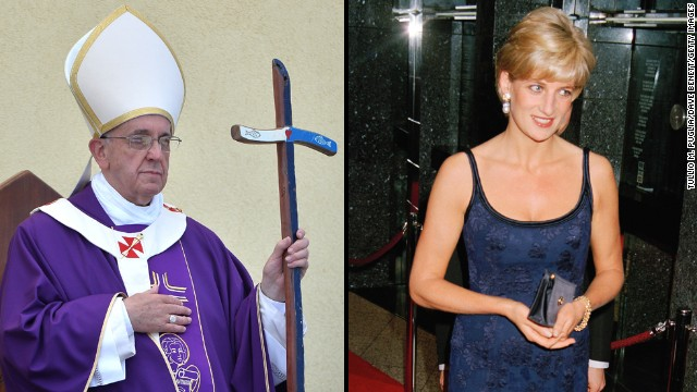 Is Pope Francis the Catholic Princess Diana?