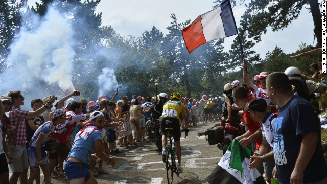 On Bastille Day, Chris Froome beat his main rivals to increase his lead at the Tour de France.