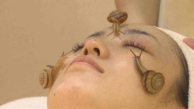 ¡Caracoles! Un nuevo tratamiento facial con baba