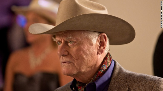 "The producers of the rebooted ""Dallas"" revisited the ""Who shot J.R."" mystery of the original show following Larry Hagman's death, of complications from cancer, in 2012."