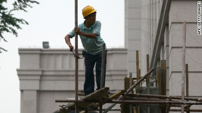 China GDP slows as property risk booms